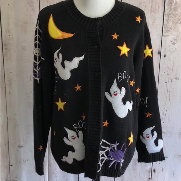 Quacker Factory Tops | Halloween Sweatshirt | Poshmark